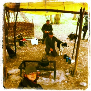 Tracking training at camp by Jason Ingamells